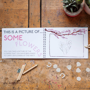 My Day as a Flowergirl - Activity Book Keepsake