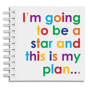 I'm going to be a star - notebook