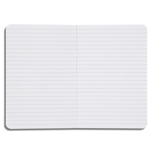 This A5 sized notebook has 80 pages of lined paper waiting to be filled