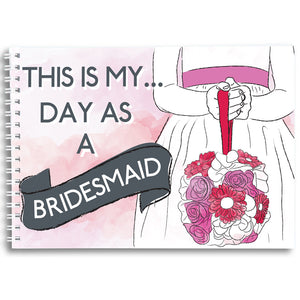 My Day as a Bridesmaid - Activity Book Keepsake