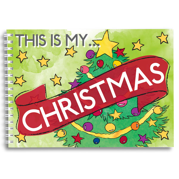 This is my Christmas - keepsake book