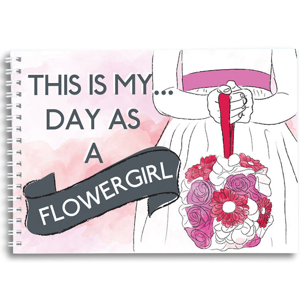My Day as a Flowergirl - Keepsake Book
