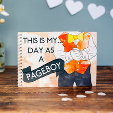 My Day as a Pageboy - Activity Book Keepsake
