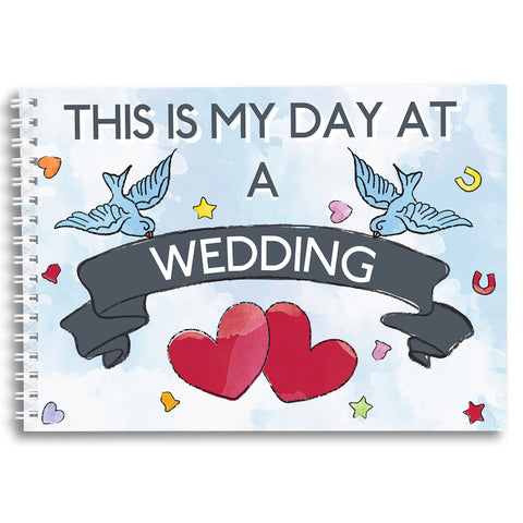 My Day at a Wedding - Keepsake Book
