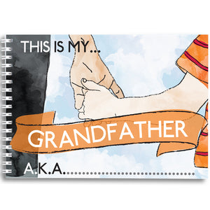 This is my grandfather - keepsake book