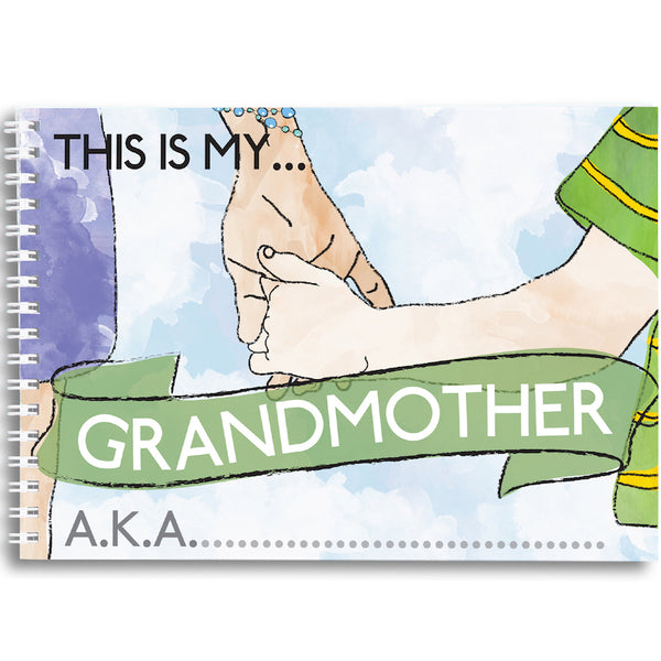 This is my grandmother - keepsake book