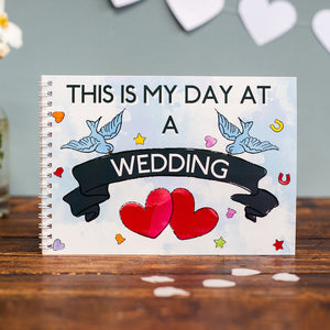 My Day at a Wedding - Activity Book Keepsake