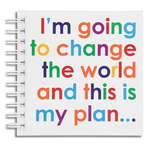 I'm going to change the world - doodle pad