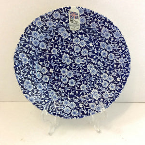 Burleigh Calico Plate - Broadfield Flowers Florist Lincoln, Christchurch