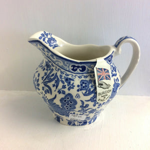 Burleigh Blue Regal Cream Jug - Broadfield Flowers Florist Lincoln