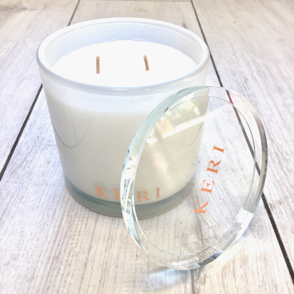 Vanilla Creme Luxury Soy Candle Jar