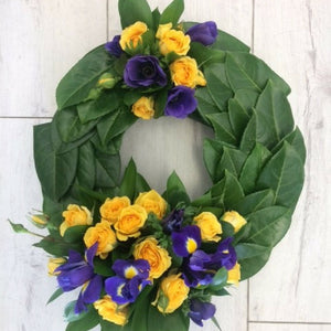 ANZAC Wreath - Broadfield Flowers Florist Lincoln, Christchurch