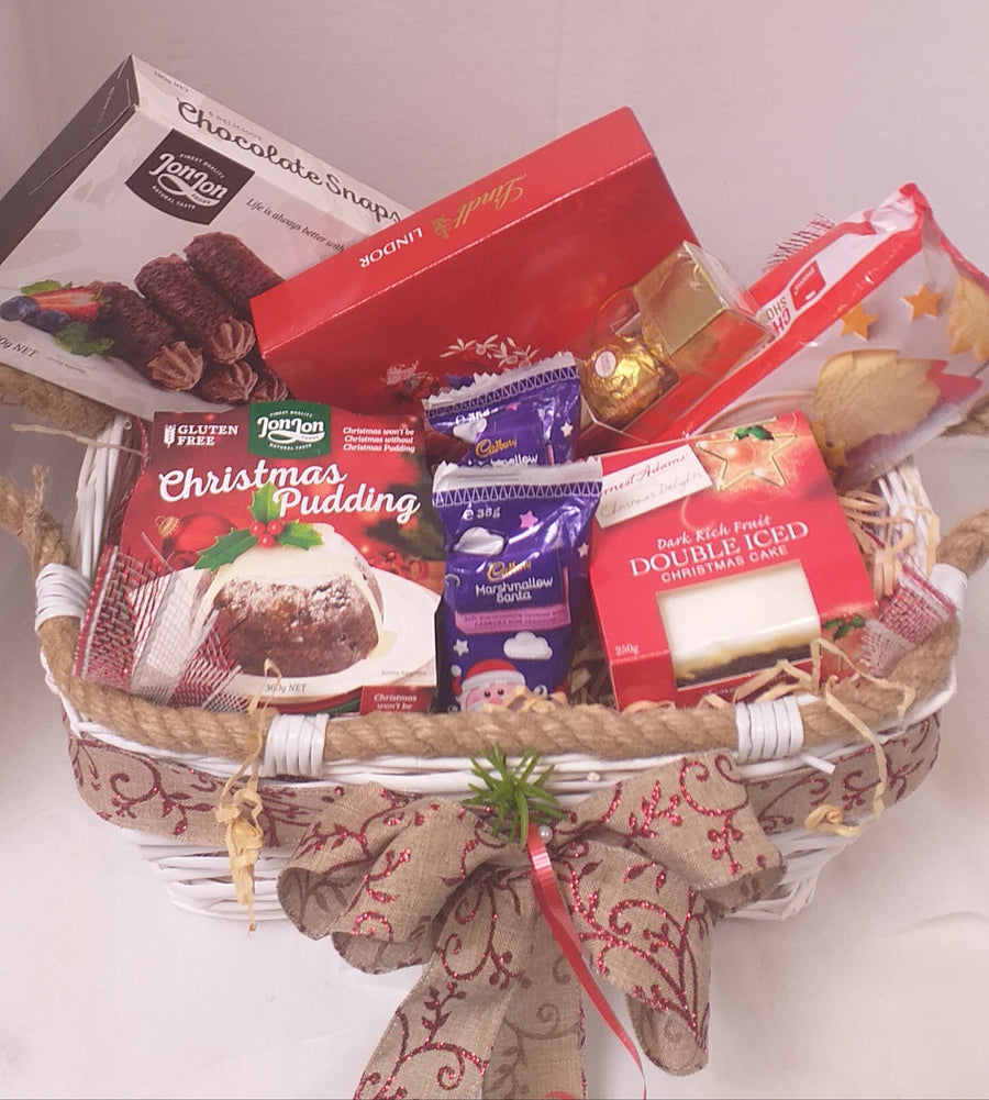 Christmas Basket - Broadfield Flowers Florist Lincoln, Christchurch