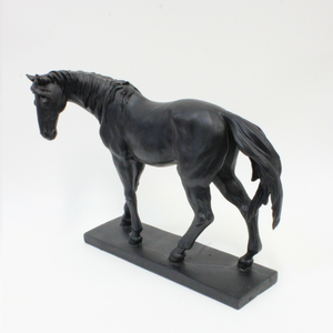 Black Horse Figure - Broadfield Flowers Florist Lincoln, Christchurch