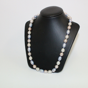 Blue and White Pearl Necklace - Broadfield Flowers Florist Lincoln