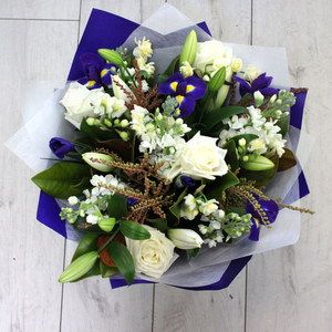 Blue and White - Broadfield Flowers Florist Lincoln, Christchurch