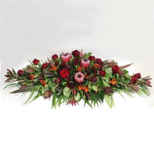 Casket Spray - Broadfield Flowers Florist Lincoln, Christchurch