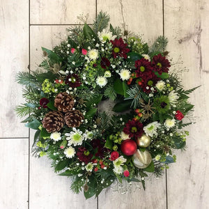 Wreath - Broadfield Flowers Florist Lincoln, Christchurch