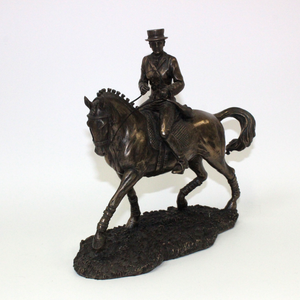 Bronze Female Rider Small - Broadfield Flowers Florist Lincoln