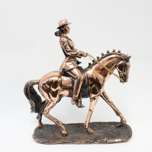 Bronze Female Rider - Broadfield Flowers Florist Lincoln