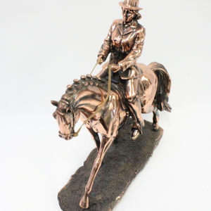 Bronze Female Rider - Broadfield Flowers Florist Lincoln, Christchurch