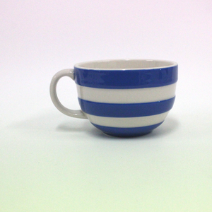 Cornishware Cappuccino Mug - Broadfield Flowers Florist Lincoln, Christchurch