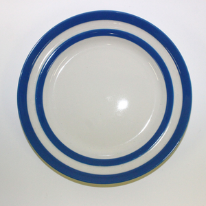 Cornishware Breakfast Plates - Broadfield Flowers Florist Lincoln, Christchurch