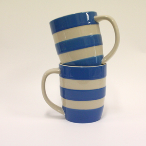 Cornishware Tapered Mug - Broadfield Flowers Florist Lincoln, Christchurch