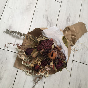 Dried Flower Bouquet - Broadfield Flowers Florist Lincoln, Christchurch