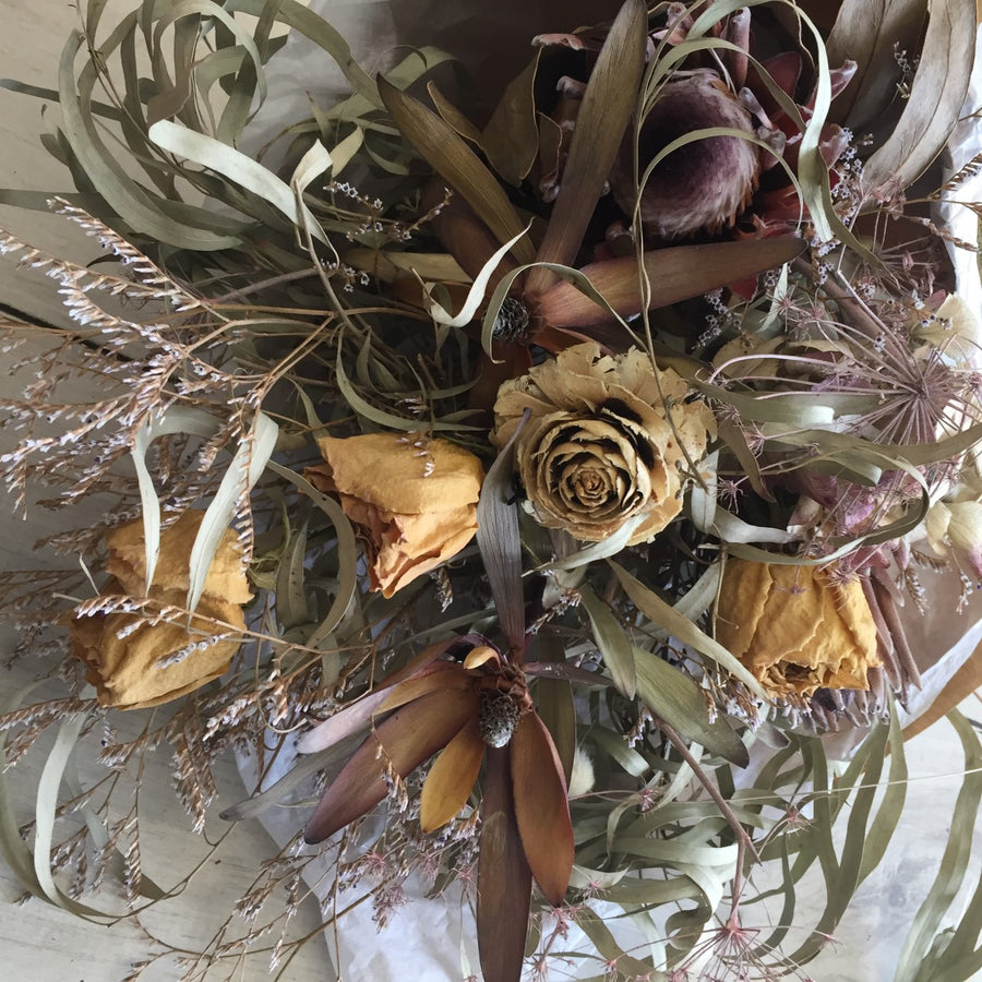 Dried Flower Bouquet - Broadfield Flowers Florist Lincoln