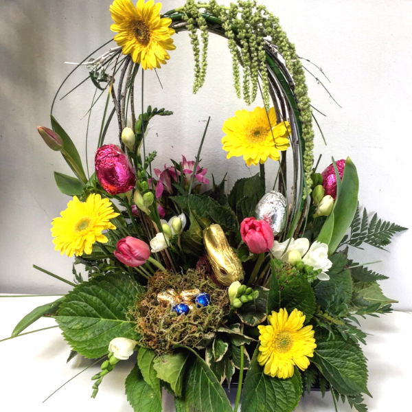 Easter Arrangement - Broadfield Flowers Florist Lincoln, Christchurch