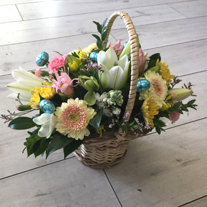 Easter Basket - Broadfield Flowers Florist Lincoln, Christchurch