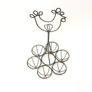 Wire Chicken Six Egg Holder - Broadfield Flowers Florist Lincoln, Christchurch