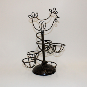 Wire Chicken Egg Holder - Broadfield Flowers Florist Lincoln, Christchurch