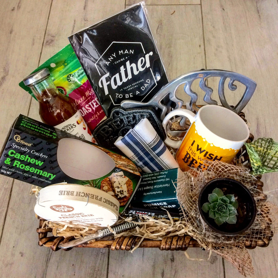 Father's Day Gift Basket - Broadfield Flowers Florist Lincoln, Christchurch