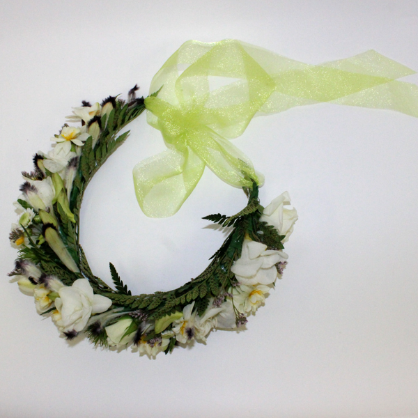 Floral Head Circlet - Broadfield Flowers Florist Lincoln, Christchurch