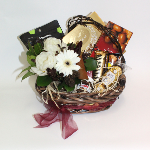 Wedding Flowers Lincoln: Chocolate Lover's Gift Basket