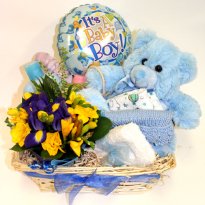 New Baby Gift Basket - Broadfield Flowers Florist Lincoln, Christchurch