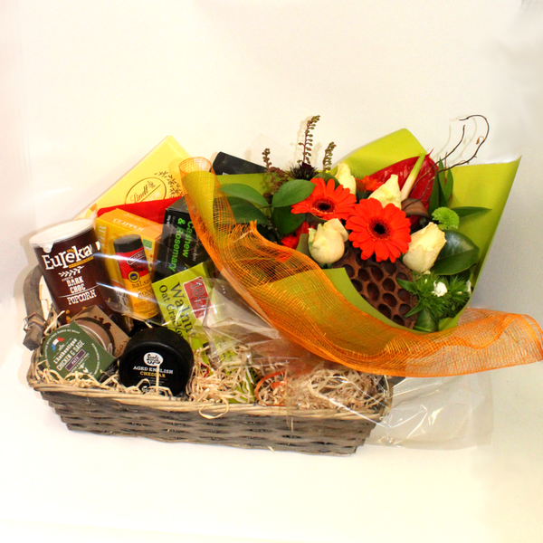 Gourmet Gift Basket - Broadfield Flowers Florist Lincoln, Christchurch