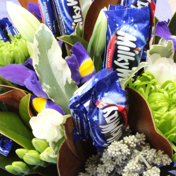 Milky Way Bouquet - Broadfield Flowers Florist Lincoln, Christchurch