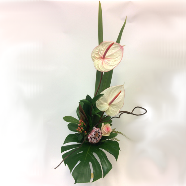 Modern Structured Arrangement - Broadfield Flowers Florist Lincoln, Christchurch