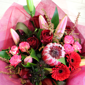 Magenta Mood - Broadfield Flowers Florist Lincoln, Christchurch