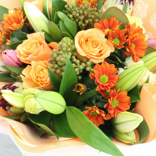 Perfectly Peachy - Broadfield Flowers Florist Lincoln