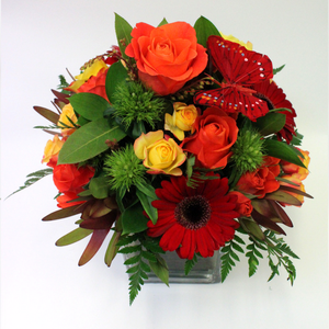 Arrangement in a Vase - Broadfield Flowers Florist Lincoln, Christchurch