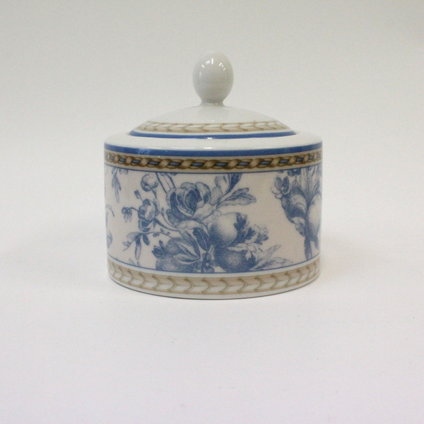 Royal Doulton Provence Bleu Trinket Pot - Broadfield Flowers Florist Lincoln, Christchurch
