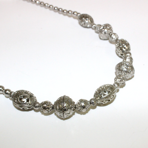 Silver Ball Necklace - Broadfield Flowers Florist Lincoln, Christchurch