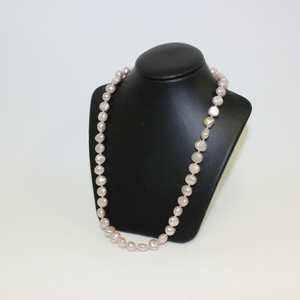 Small Beaded Pink Pearl Necklace - Broadfield Flowers Florist Lincoln