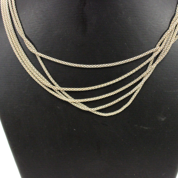 Stirling Silver Five Chain Necklace - Broadfield Flowers Florist Lincoln, Christchurch