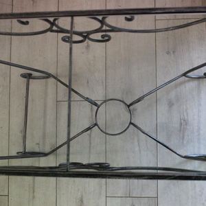 Glass Iron Table - Broadfield Flowers Florist Lincoln