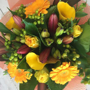 Tequila Sunrise - Broadfield Flowers Florist Lincoln, Christchurch